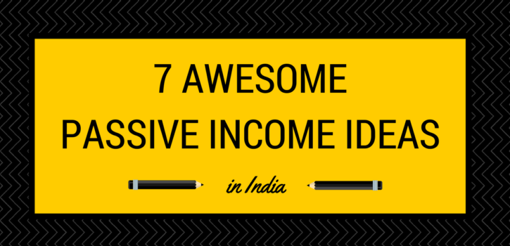 passive income ideas in India